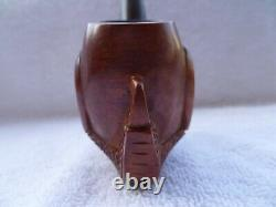0408, Plymouth, Eagles claw, Hand carved, Tobacco Smoking Pipe, Estate, 0068