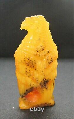 100% Genuine Baltic Amber Hand Carved EAGLE