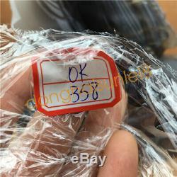 3.6LB Natural Geode Agate quartz eagle skull hand Carved crystal OK358-DAA-2