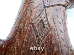 AAFA Folk Art Country Primitive Americana wood hand carved Eagle