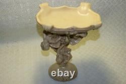 Antique Hand Carved With Angels Scenes Unusual Quirky in the Claws of an Eagle