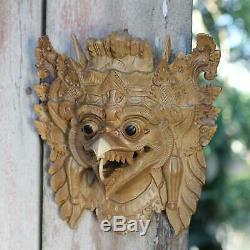 Balinese Hindu Mask'Garuda the Eagle' Hand Carved Acacia Wood Art NOVICA Bali