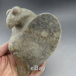 Chinese jade, collectibles, hand-carved, jade, Hongshan culture, eaglestatue B610