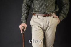 Eagle Walking Stick, Wooden Cane for Gift, Hand Carved Handmade Hiking Stick