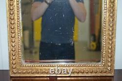 Exquisite Regency Circa 1810-1820 Gilded Gesso Mirror Hand Carved Large Eagle