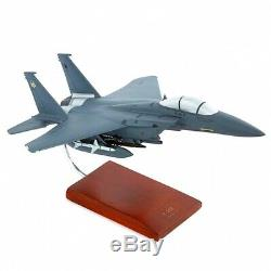 F-15E Strike Eagle Hand-Carved 1/48 Scale Display ready