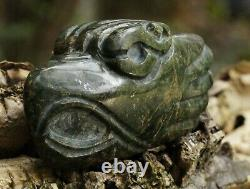++ Hand Carved Aztec Eagle Pendant ++