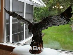 Hand-carved Polish Eagle Simply Stunning! Like New! Extra Large