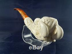 Large Size Eagle's Claw, Block Meerschaum, Hand Carved Eagle's Claw