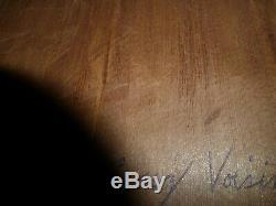 Northwest Coast Squamish Nation Haida deep hand carved Eagle Carving