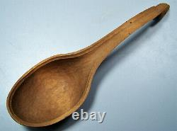 RARE Haida David Quist Signed Hand Carved Cedar Eagle Feast Potlatch Spoon MINT