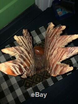 Vintage Hand Carved Eagle From 1989. Sold As Is, No Cleaning