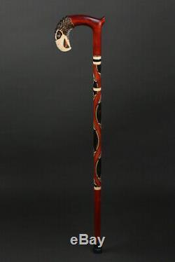 Walking canes for men Walking Stick Eagle Walking cane Hand Carved II