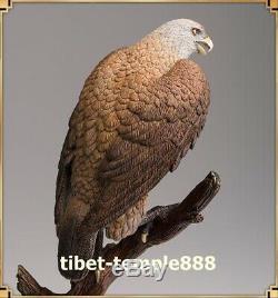 Western Art Deco Brass desert Lanneret Hawk Eagle Bird King Animal art Sculpture